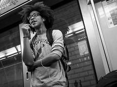 (Christof Timmermann) Tags: people paris blackwhite metro olympuspen glases streetfotografie