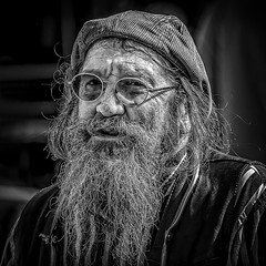 Market Dude (Jim-Mooney) Tags: street portrait people blackandwhite bw white black monochrome photography mono blackwhite fuji candid monotone kansascity fujinon xt1 50140mm