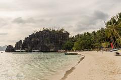 20150223-IMGP5128.jpg (derkderkall) Tags: ocean beach boats paradise philippines palmtrees tropical whitesand karst elnido islandhopping palawan
