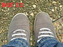 DAY 13 #keds (slo.jean) Tags: new old wet work hole used worn torn 365 trashed keds