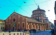 Santa Maria delle Grazie (slim studios) Tags: milan church europe sigma1850f28 nikond3100