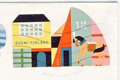 Finnland 4 (postcardlady1) Tags: stamp briefmarke