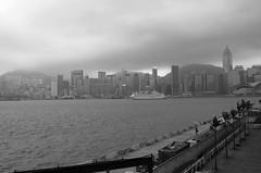 Hong Kong (VladPL) Tags: china leica sea blackandwhite bw building hongkong seashore leicacamera leicadigital leicaphoto leicaphotos leicaimages leicax2 leicaxseries leicajpeg