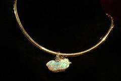 Opal Choker (Piedmont Fossil) Tags: museum necklace sydney australia jewelry collection national precious opal gem gemstone