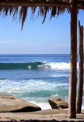 The Hut, Windansea beach (nickstephenson) Tags: california travel sea summer usa holiday beach paradise azure roadtrip surfing ontheroad