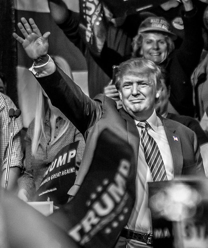 From flickr.com: Donald Trump in Reno, Nevada.  'Nuff said. {MID-189945}
