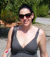 Nina Sunglasses and Smiles in Petrinja (sean and nina) Tags: street pink trees summer vacation people woman sun holiday hot public girl beautiful beauty smile face sunshine sunglasses smiling lady female mouth pose neck bag walking fun outside nose happy person grey amazing girlfriend married dress arms skin outdoor path bare gorgeous earring smiles posed posing croatia august charm lips heat ear stunning wife nina shoulders charming throat straps pathway visage croatian fiancee nape happily serb 2015 petrinja