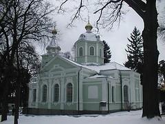 Храм препод. Серафима Саровского в Пуща-Водице