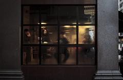(Tatum Wulff) Tags: street canada color window lady vancouver cafe mood britishcolumbia candid