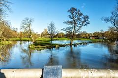 The Jubilee bridge (taperoo2k) Tags: oxford floods christchurchmeadow jubileebridge rivercherwell kevintaphousephotography