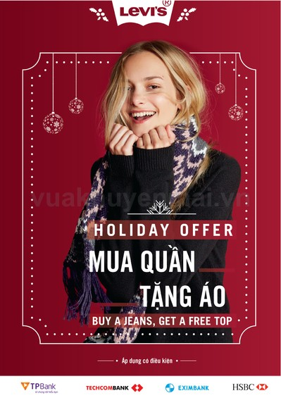 LEVI'S HOLIDAY OFFER