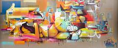 Toujours trop présente.jpg (BoCat31) Tags: tag streetart cubisme chat femme