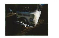 fuji instax mini 4- Chad's bus (EllenJo) Tags: lomo fujifilm newcamera testshots instantfilm fujiinstax linstant fujiinstantfilm ellenjo lomographicsocietyinternational ellenjoroberts february2016