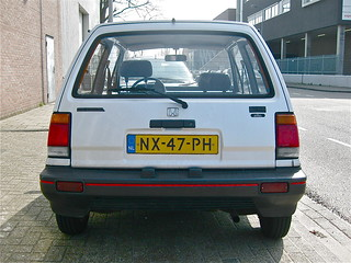 1985 HONDA Jazz MK1 1.2 Luxe Hondamatic
