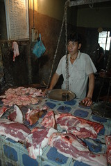 pork stall (Monterey Indo-Pac Photography) Tags: food india portraits markets meat pork kohima nagaland