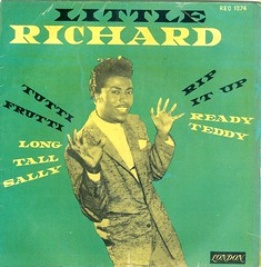 1 - Little Richard - And His Band - EP - Sweden - 1956 (Affendaddy) Tags: london sweden 1956 littlerichard tuttifrutti decca extendedplay ripitup longtallsally readyteddy collectionklaushiltscher vinyleps usrocknroll vinyl4tracksingle reo1074