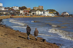 Contro tutte le probabilita / Against all odds (Broadstairs, Kent, United Kingdom) (AndreaPucci) Tags: uk kent philcollins charlesdickens broadstairs vikingbay canonef24105mmf4lis isleofthanet canoneos60 andreapucci