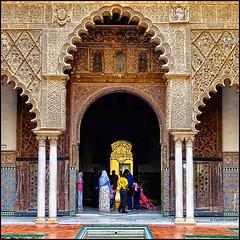 (2217) Alczar de Sevilla (QuimG) Tags: art architecture golden sevilla andaluca spain sony specialtouch alczardesevilla quimg quimgranell joaquimgranell afcastell obresdart