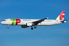 TAP Air Portugal A321-211 CS-TJG