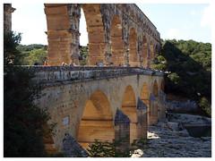 Pont du Gard (abac077) Tags: light france monument 30 architecture lumière pontdugard gard aqueduc languedocroussillon 2015 aqueducromain aqueducdenimes