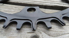 Garbaruk Melon 40T Cyclocross Chainring (Patrick Strahm) Tags: black wide narrow oval chainring 40t 110bcd garbaruk