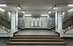 interzone (lux/us) Tags: street urban building architecture underground vanishingpoint angle availablelight sony hamburg stadt ubahn architektur forms form gebaeude abstrakt symetrie fluchtpunkt rx100