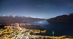 Queenstown (Kiwi Tom) Tags: city newzealand mountains nature night stars landscape nikon astro queenstown tomhall