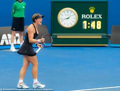 An-Sophie Mestach (Jimmie48 Tennis Photography) Tags: sport australia brisbane tennis 2016 brisbaneinternational ansophiemestach