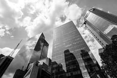 Skyscrapers (Guilherme Nicholas) Tags: street brazil blackandwhite bw white black building branco brasil nikon skyscrapers sopaulo streetphotography pb preto sp rua streetview avenidapaulista fotografiarua guilhermenicholas