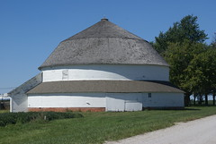 James Round Barn (grandpaspix) Tags: county barn sony iowa marion round dt a100 35561870mm