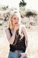 Hailey (Marta Nrgaard) Tags: california wild portrait woman film beauty fashion youth outdoors outfit model photographer photoshoot style indie editorial boho grainisgood freelance