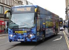 54128 - YX63 NFT (Cammies Transport Photography) Tags: volvo edinburgh place glasgow young via scot awards panther 900 stagecoach nft 2016 plaxton megabuscom shandwick 54128 ballieston yx63 yx63nft