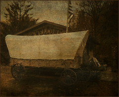 Covered Welcome Wagon...(Explored) (Patlees) Tags: mountains thanks nc evelyn flint textured coveredwagon kerstenfrank