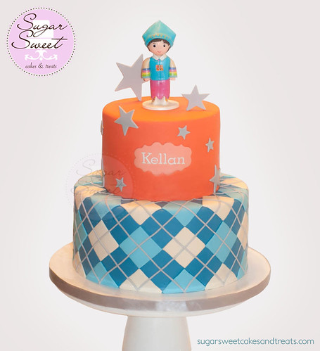 Doljanchi First Birthday Cake (Hanbok Boy)