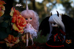Three Horns Are better than 1 or even 2 (dreamdust2022) Tags: cute girl beautiful loving happy doll pretty princess little sweet innocent young adorable evil dal sparrow demon charming unicorn eternity pure magical darling playful tender dama foolish lilim mzar yeolume