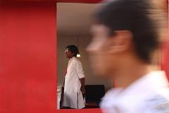 RedWindow (MirShuVo) Tags: life street red color window photography book fair dhaka colorsoflife