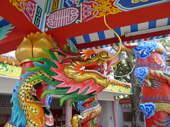 Chinese Dragon.. (larryoien) Tags: thailand lumix dragon panasonic chinesedragon kalasin digitalcompact lx5 travellight totallythailand