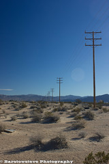 My Continuing Obsession With Power Poles-Harvard Road (Barstow Steve) Tags: power dunes springs poles newberry