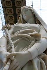 La vierge au lys d'Eugne Delaplanche (arnauddeschamps49) Tags: paris france monument statue europe ledefrance muse capitale lys musedorsay obelisque vierge commmoratifhonorifiqueoudcoratif