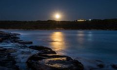 By the moonlinght (SydneyLens) Tags: longexposure blue sydney australia moonlight laperouse bareisland randwickcity