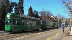 Tram Basel Switzerland 2012 (hrs51) Tags: tram strassenbahn basel bvb schindler dreiwagenzug switzerland tramway streetcar pratteln bâle hans rudolf hansrudolf hansruedi stoll
