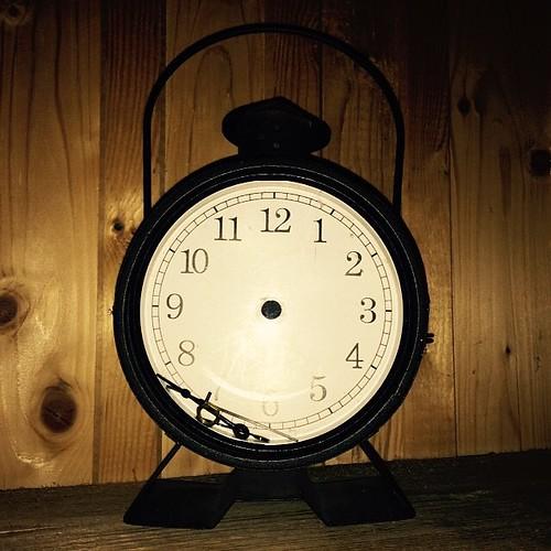 Hier steht die #Zeit tatsächlich still...
