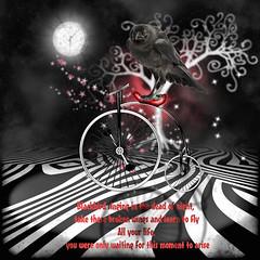 BLACKBIRD (Nonni_F) Tags: art digital circus midnight beatles scrap blackbird reverie martavaneck mischiefcircus