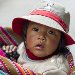 Peru (keithlevit) Tags: portrait people baby cute peru latinamerica southamerica hat childhood cuzco closeup kids children square outdoors photography kid toddler infant eyecontact day babies alone child young blanket latin innocence and latino hispanic cuteness infants curiosity sacredvalley oneperson beginner curios beginnings frontview headandshoulders latinamerican babyhood sacredvalleyoftheincas realpeople humanface colorimage curiousness babyclothing lookingatcamera 69months 912months colourimage urubambavalley focusonforeground latinamericanandhispanicethnicity squareimage hispanicethnicity cuscoregion peruvianethnicity 611months cuscoprovince onebabyonly
