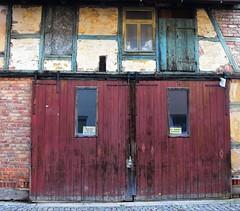(:Linda:) Tags: door brick window germany town thuringia halftimbered browndoor themar
