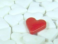 red heart sprinkle (muffett68 ) Tags: red macro heart cupcake highkey sprinkle possibility oneofthesethingsisnotliketheothers macromonday cmwdred