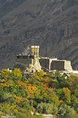 Altit Fort (gilgit2) Tags: trees pakistan mountains building canon landscape geotagged rocks fort structures tags location elements vegetation tele hunza karimabad gilgitbaltistan imranshah canonpowershotsx20is gilgit2
