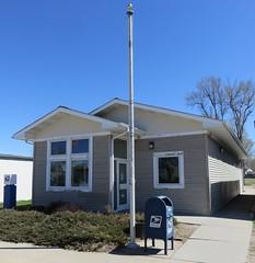 Post Office 68812 (Amherst, Nebraska) (courthouselover) Tags: nebraska ne amherst postoffices buffalocounty