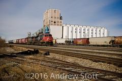 CN 412 (awstott) Tags: cn train locomotive ge cnr generalelectric 2325 2520 es44dc canadiannationalrailway c449wl