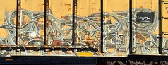 Tars (MC. Squared) Tags: graffiti freight tars benching